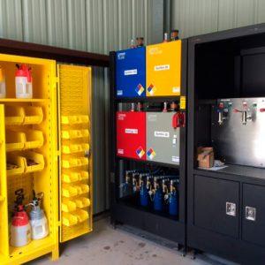 Demarcacion cuartos de lubricacion